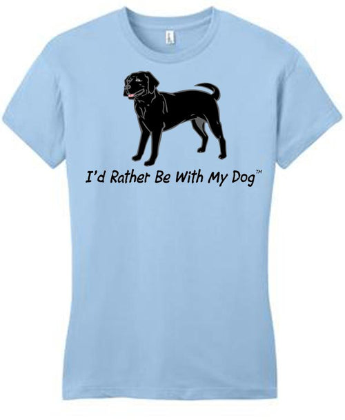 Black Lab Ladies T