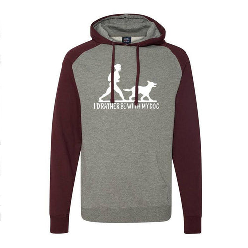 Go For A Hike!? Raglan Hoodie Ladies