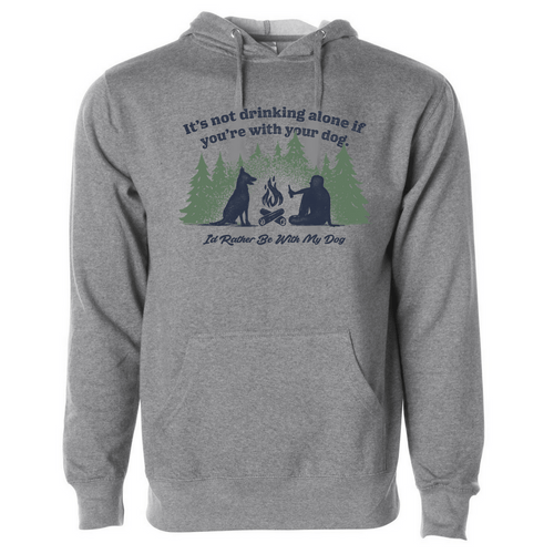 Not Drinking Alone | Campfire Hoodie