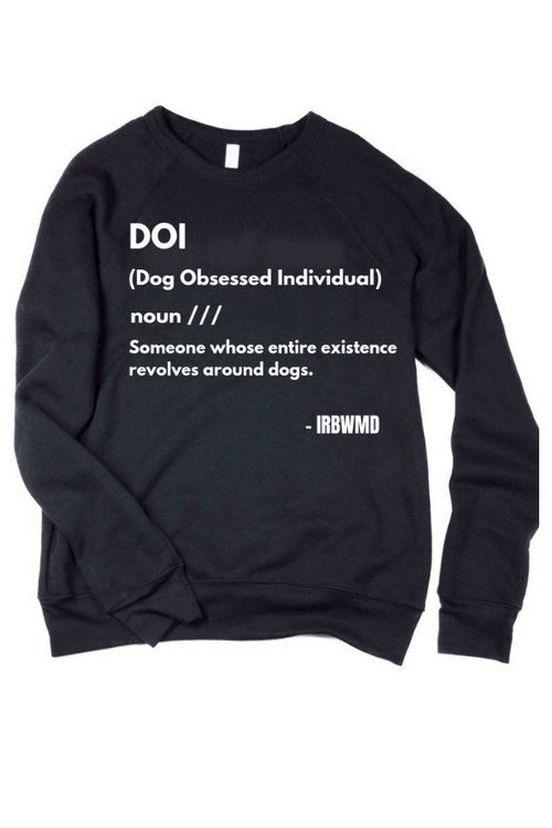 DOI Oversized Unisex Sweatshirt