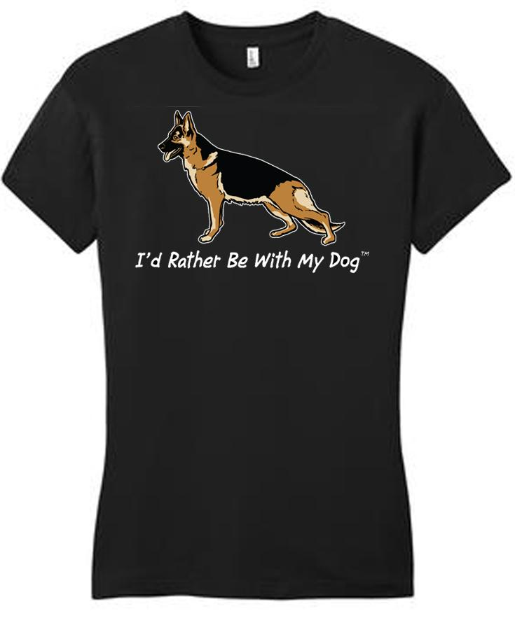 German Shepherd Ladies T