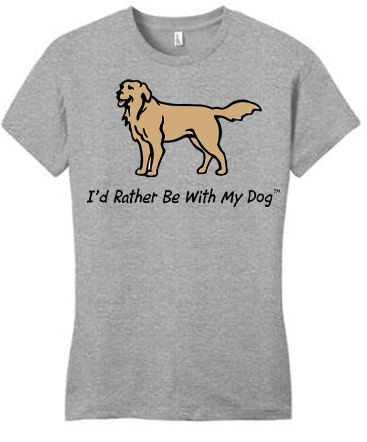 Golden Retriever Ladies T