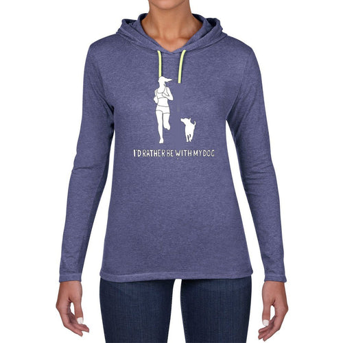 Let's Go For A Run! Hooded T