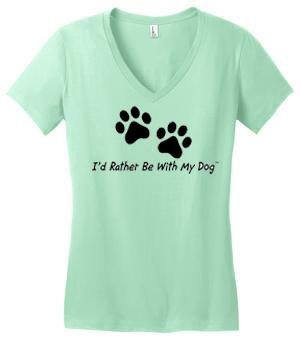 IRBWMD Ladies V Neck