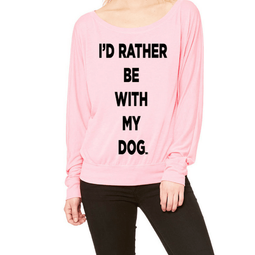 Neon Pink Long Sleeve Flowy T