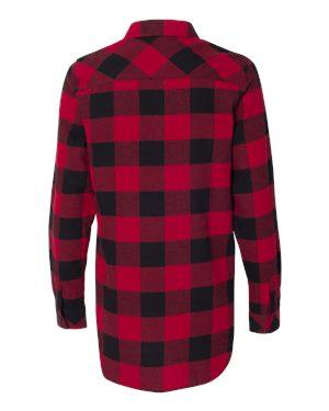 Red and Black Ladies Flannel
