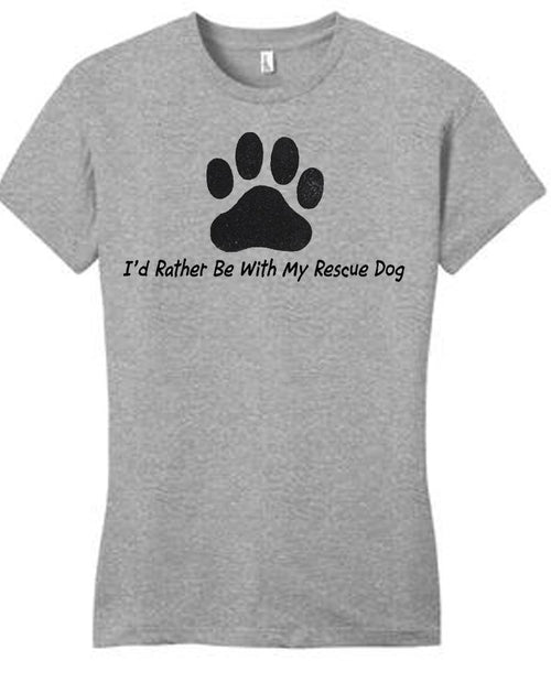 Rescue Dog Ladies T