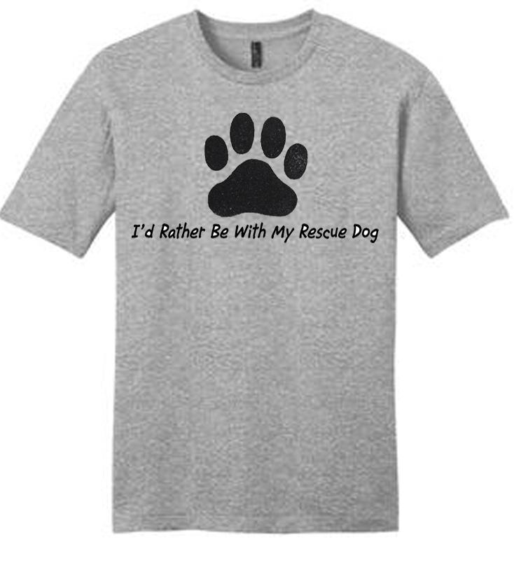 Rescue Dog T Shirt