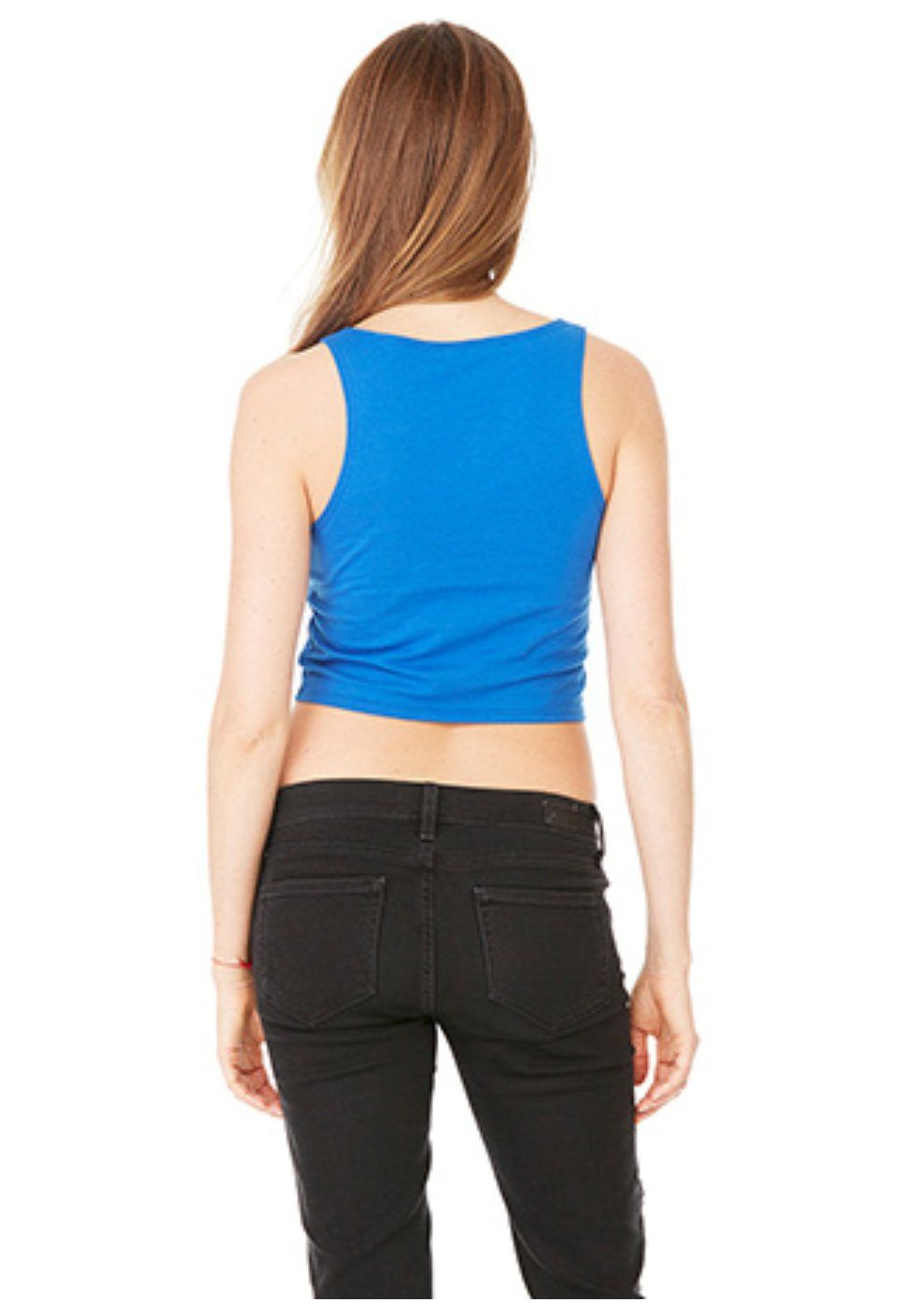 Downward Dog Royal Crop Tank