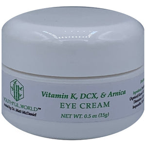 Eye Cream with Vitamin K, DCX, & Arnica