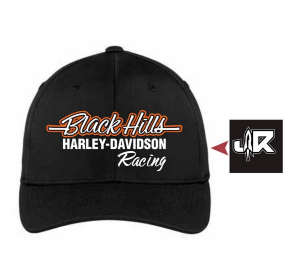 BlackHills H-D Racing Snap Back