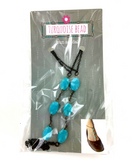 Turquoise Bead Sun Sandal - Anklet