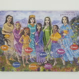 Scripture Princesses - Puzzle (WAREHOUSE PICK-UP ONLY)