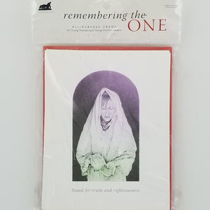 Remembering the One - Cards - Young Women - 6pk