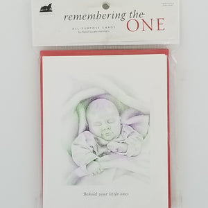 Remembering the One - Cards - Baby Blessing - 6pk