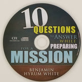 Audio CD | 10 Questions to Answer While Preparing for a Mission