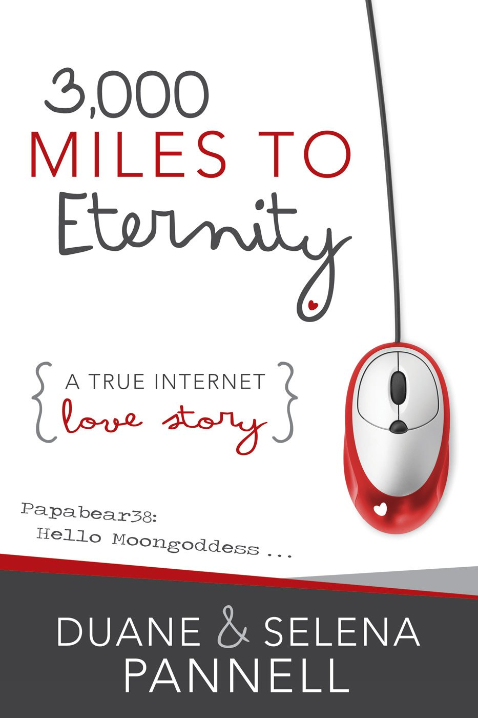 3,000 Miles to Eternity: A True Internet Love Story - Paperback