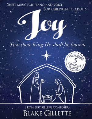 Joy (Individual Song, Sheet Music)