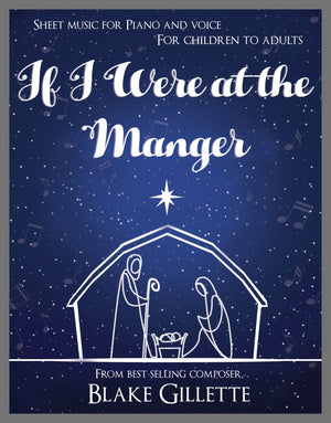 If I Were at the Manger (Sheet Music)