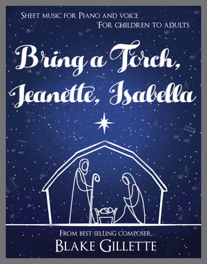 Bring a Torch, Jeanette, Isabella (Sheet Music)