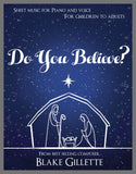Do You Believe? (Sheet Music)