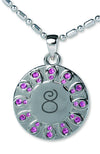 Baptism 8 Necklace - Pink