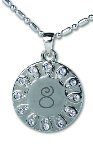 E443, E463 Baptism 8 Necklace (White)