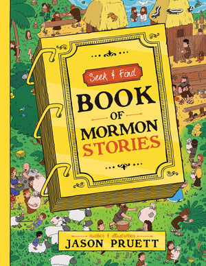 Seek and Find: Book of Mormon Stories - Hardcover
