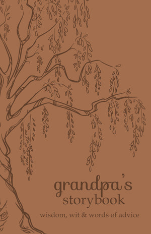 Grandpa's Storybook: Wisdom, Wit, and Words of Advice - Flexibound