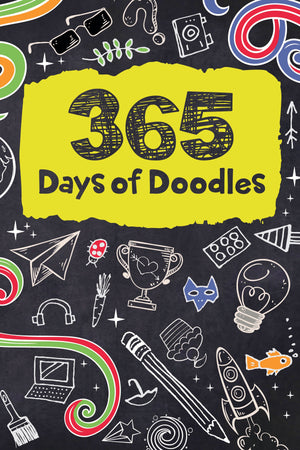 365 Days of Doodles - Paperback - 365 Drawing Prompts