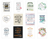 S625, 2M411 A Year of Inspiring Qts: Holiday w/Frame