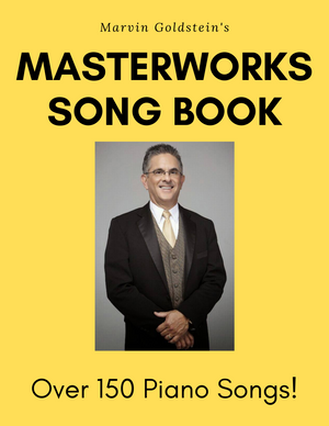 Marvin Goldstein Masterwork Songbook - Marvin Goldstein Album