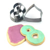 S217, 2Q311 Baptism Cookie Cutters Set (pack of 2)