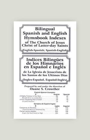 Bilingual Hymn Index-Pocket
