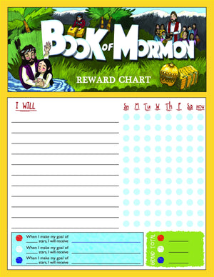 S137 Book of Mormon Reward Chart & Stickers