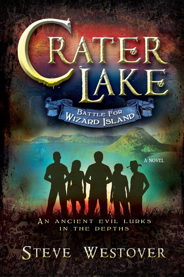 Crater Lake: Battle for Wizard Island - Hardback