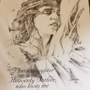 Daughter Of Heavenly Father (8x10)