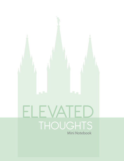 S127 Elevated Thoughts Mini Notebook