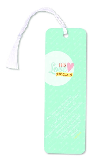 C133 Bookmark-His Love Proclaim