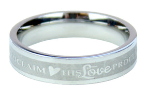 His Love Proclaim Ring (Size 6)
