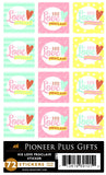 B633, B665 Stickers-His Love Proclaim