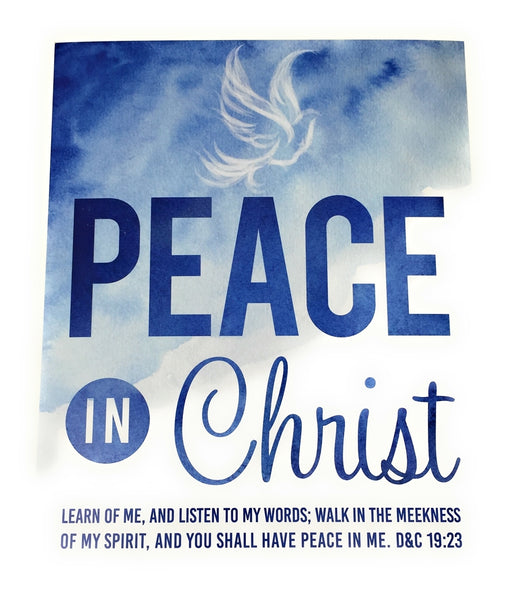 H045 Peace in Christ Art Print