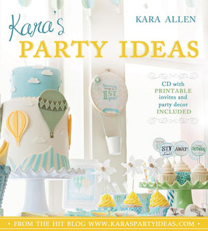 Kara's Party Ideas - Paperback - Includes CD