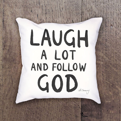 Z611 Al Carraway Laugh a Lot Decor Pillow