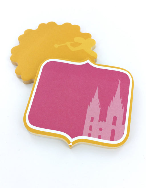 S122 Love at Home Shaped Sticky Notes