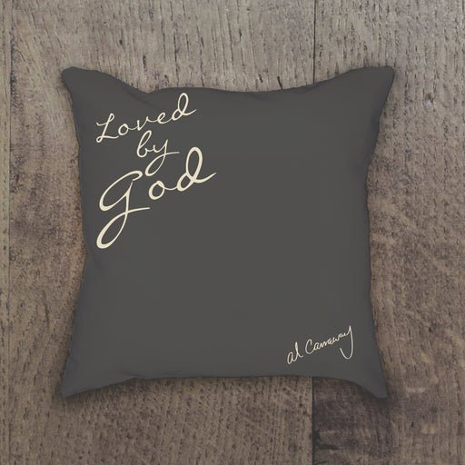Z611 Al Carraway Loved by God Decor Pillow