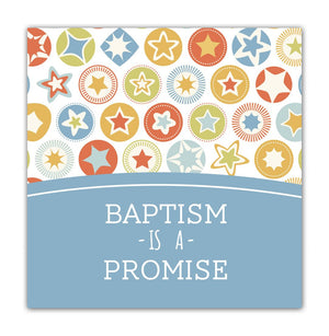 Baptism Mini Gift Card (boy)