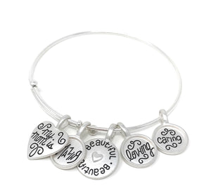 My Loving Mother Charm Bracelet