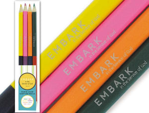 S&D, 50 Bi-color Pencils - Embark in Service