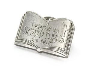 I Know the Scriptures Are True - Tie Tack